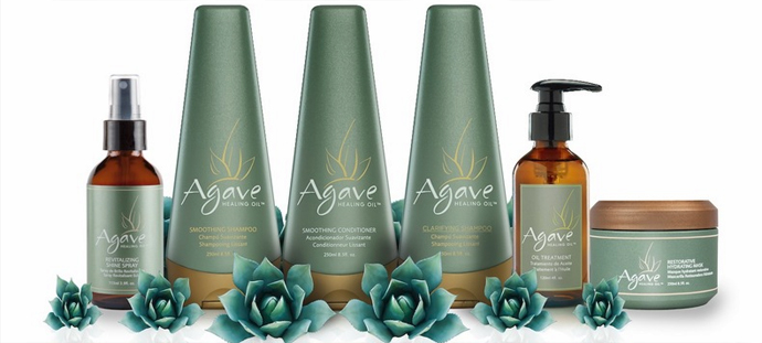 AGAVE healing oil, available from hair of bellair (Kensington, Melbourne)